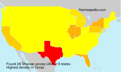 Surname Sharawi in USA