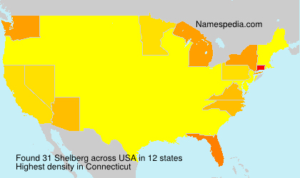 Surname Shelberg in USA