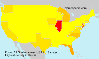 Surname Shelke in USA