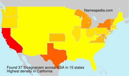 Surname Sivagnanam in USA