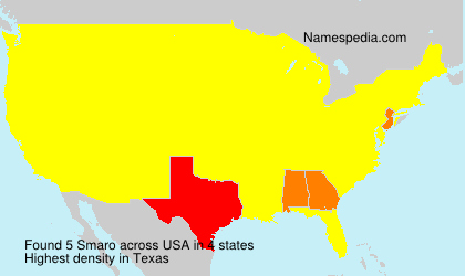 Surname Smaro in USA