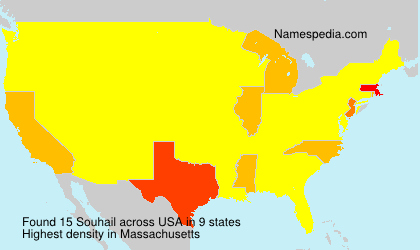 Surname Souhail in USA