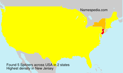 Surname Spitzers in USA
