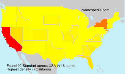 Surname Standart in USA