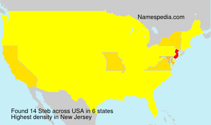 Surname Steb in USA