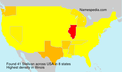 Surname Stelivan in USA