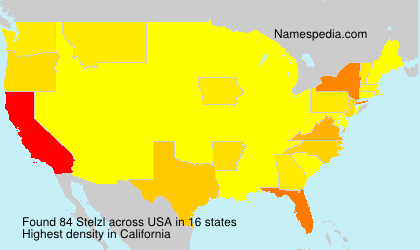 Surname Stelzl in USA
