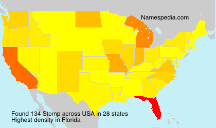 Surname Stomp in USA