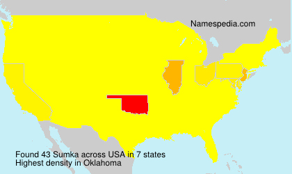 Surname Sumka in USA