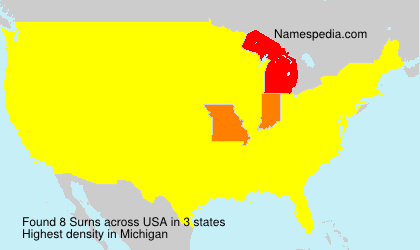 Surname Surns in USA