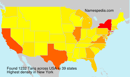 Surname Tariq in USA