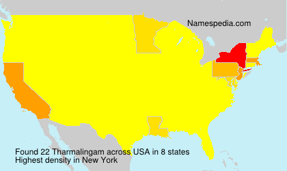 Surname Tharmalingam in USA