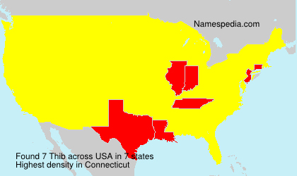 Surname Thib in USA