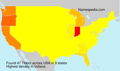 Surname Tibbot in USA
