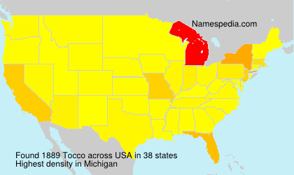 Surname Tocco in USA