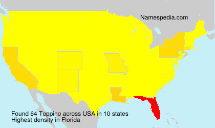 Surname Toppino in USA