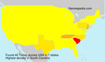 Surname Torlay in USA