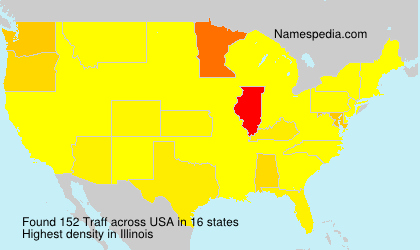 Surname Traff in USA