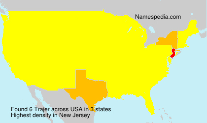 Surname Trajer in USA