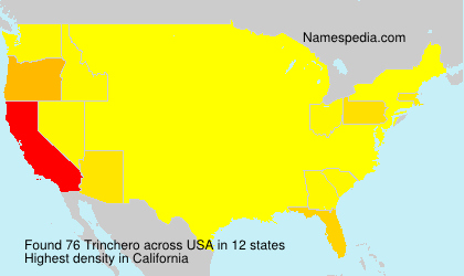Surname Trinchero in USA