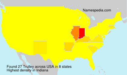 Surname Trulley in USA