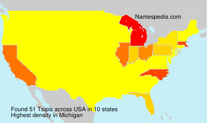 Surname Tsipis in USA