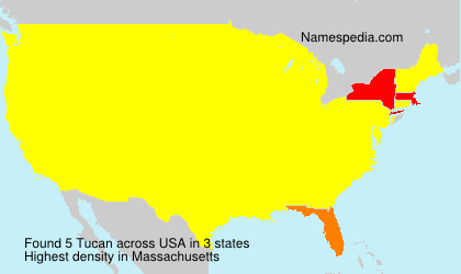 Surname Tucan in USA