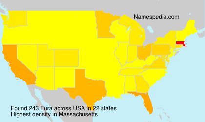 Surname Tura in USA