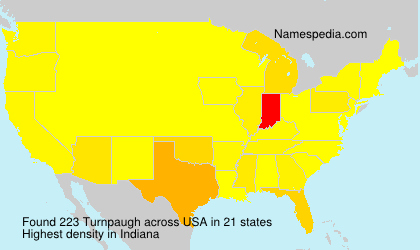 Surname Turnpaugh in USA