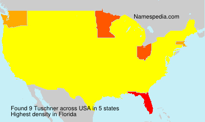 Surname Tuschner in USA
