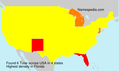Surname Tutar in USA
