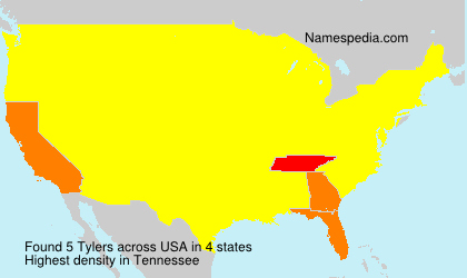 Surname Tylers in USA
