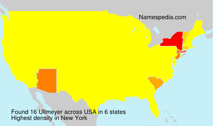 Surname Ullmeyer in USA