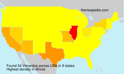 Surname Venardos in USA