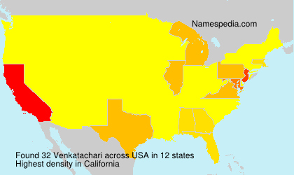 Surname Venkatachari in USA