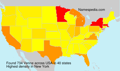 Surname Venne in USA