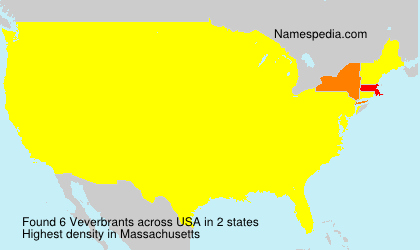Surname Veverbrants in USA
