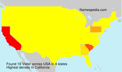 Surname Vieler in USA