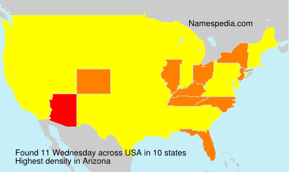 Surname Wednesday in USA