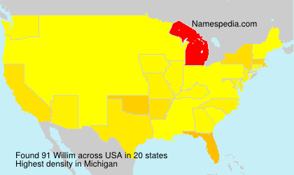 Surname Willim in USA