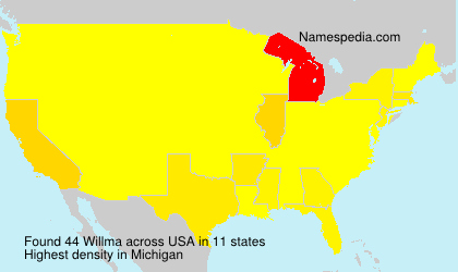 Surname Willma in USA