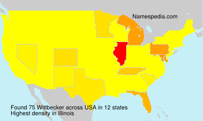Surname Wittbecker in USA