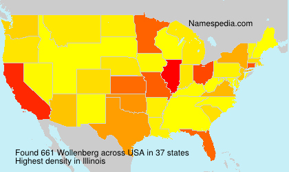 Surname Wollenberg in USA