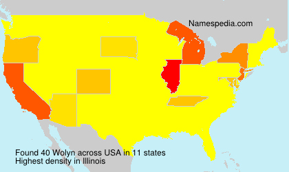 Surname Wolyn in USA