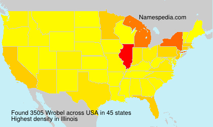 Surname Wrobel in USA