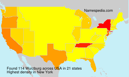 Surname Wurzburg in USA