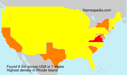 Surname Xol in USA