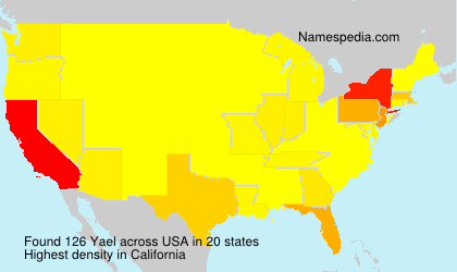 Surname Yael in USA