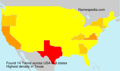 Surname Yamal in USA