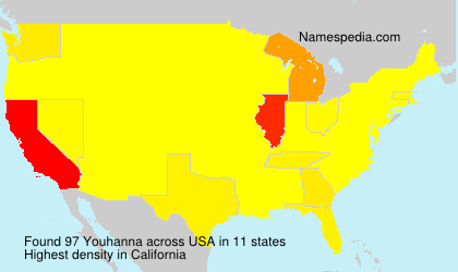 Surname Youhanna in USA